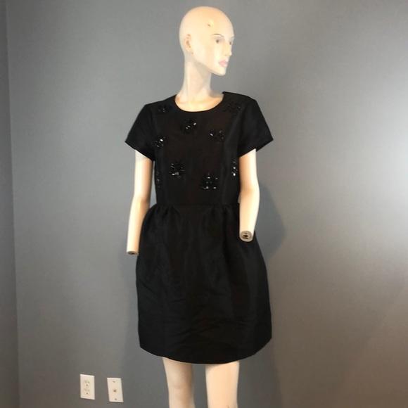 kate spade Dresses & Skirts - NWT Kate Spade Jeweled  Black Dress Sz 6